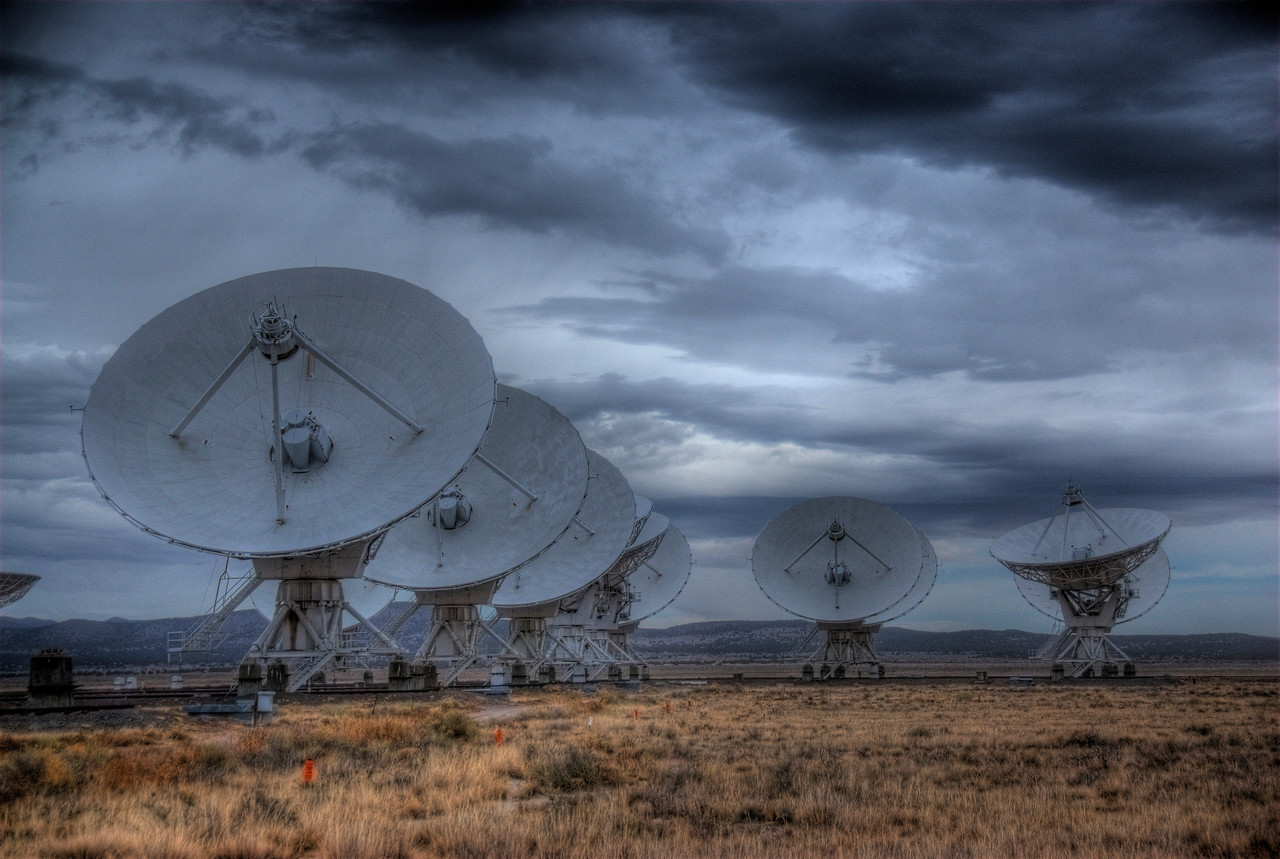 Antennas in Very Large Array, Socorro, New Mexico