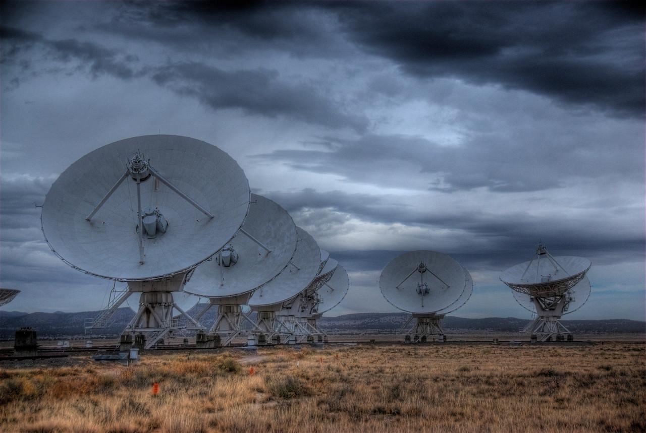 Antennas in Very Large Array, Socorro, New Mexico