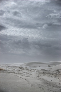 White Sands National Monument in Alamogordo, New Mexico