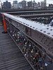 Locks on Brooklyn Bridge