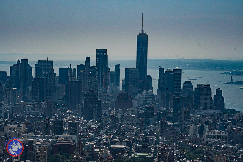 A View of Lower Manhattan from the Empire State Building During the Day (©simon@myeclecticimages.com)