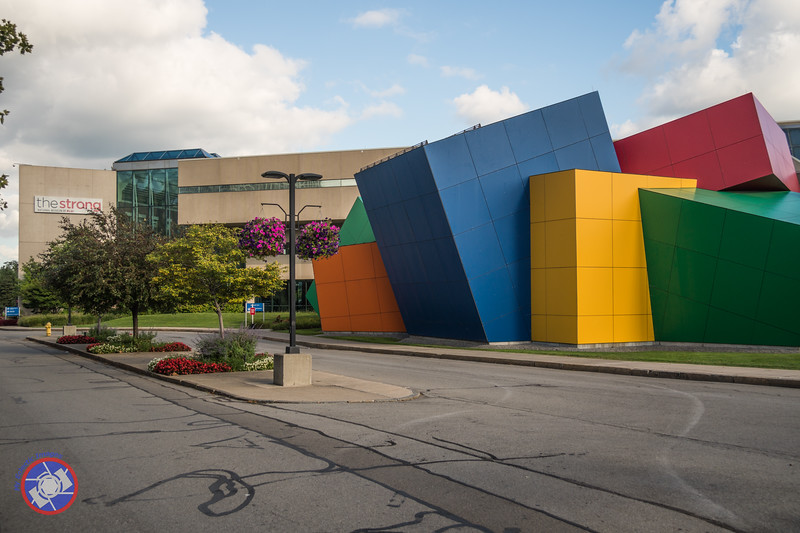 Exterior of the Strong Museum of Play (©simon@myeclecticimages.com)