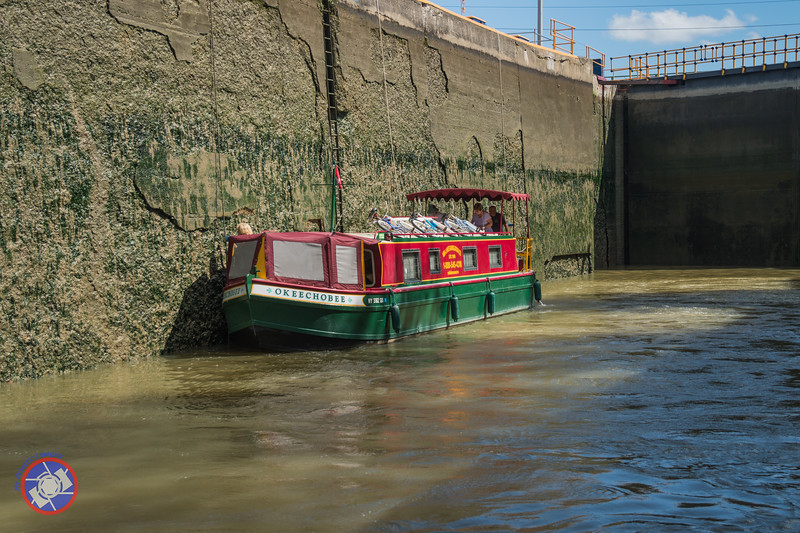 In One of the Locks Along the Eire Canal (©simon@myeclecticimages.com)