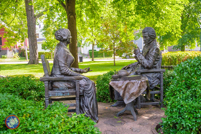 Afternoon Tea with Susan B. Anthony and Frederick Douglass (©simon@myeclecticimages.com)