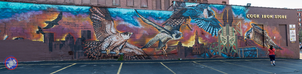 Wall Painting in Rochester, New York (©simon@myeclecticimages.com)