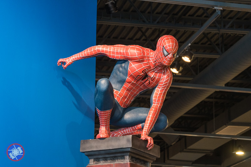 Spiderman Poised to Leap in the Strong Museum of Play (©simon@myeclecticimages.com)