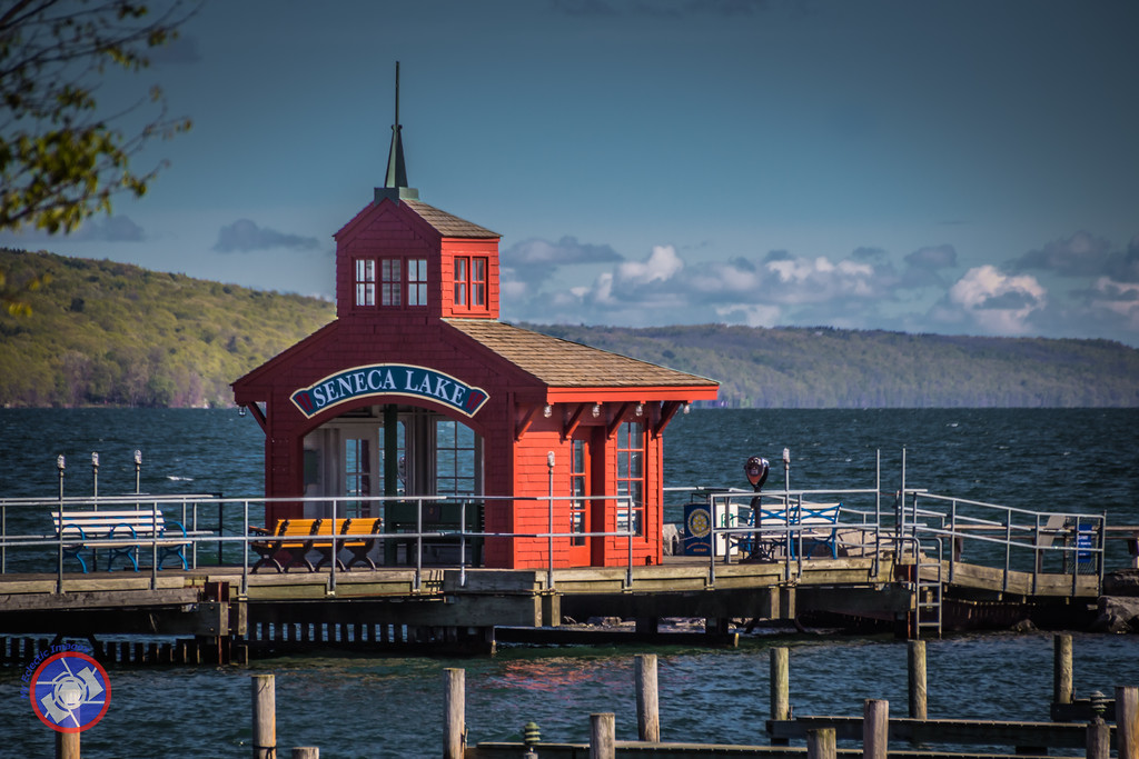 Boat House at the Southern End of Seneca Lake, New York (©simon@myeclecticimages.com)