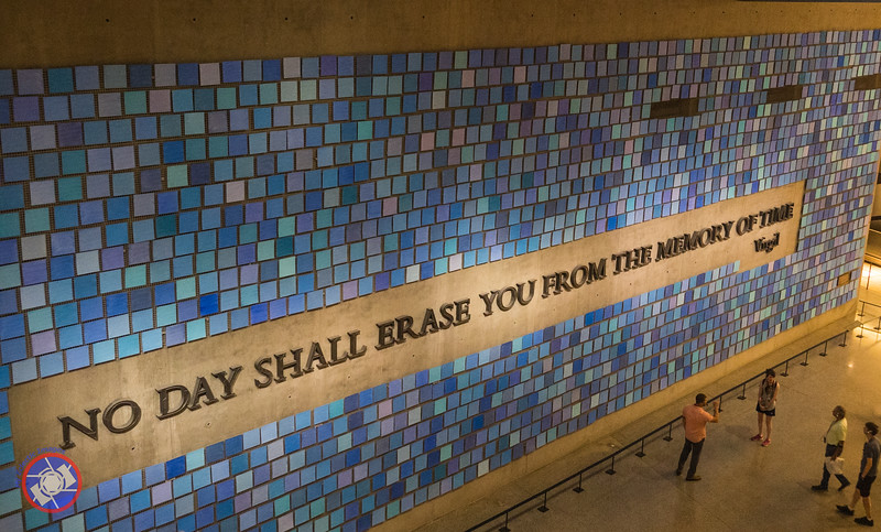 A Remembrance Wall at the 9/11 Museum (©simon@myeclecticimages.com)