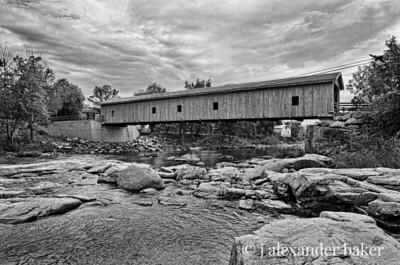 Jay Covered bridge over the Ausable River, Jay NY