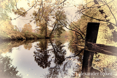 Ramapo River Reflections