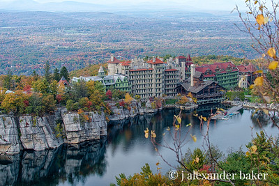Mohonk Mountain House in Autumn
