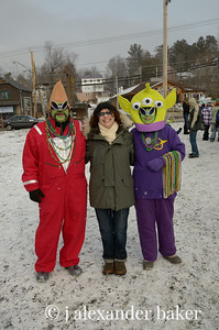 Adirondack Aliens captured my wife!