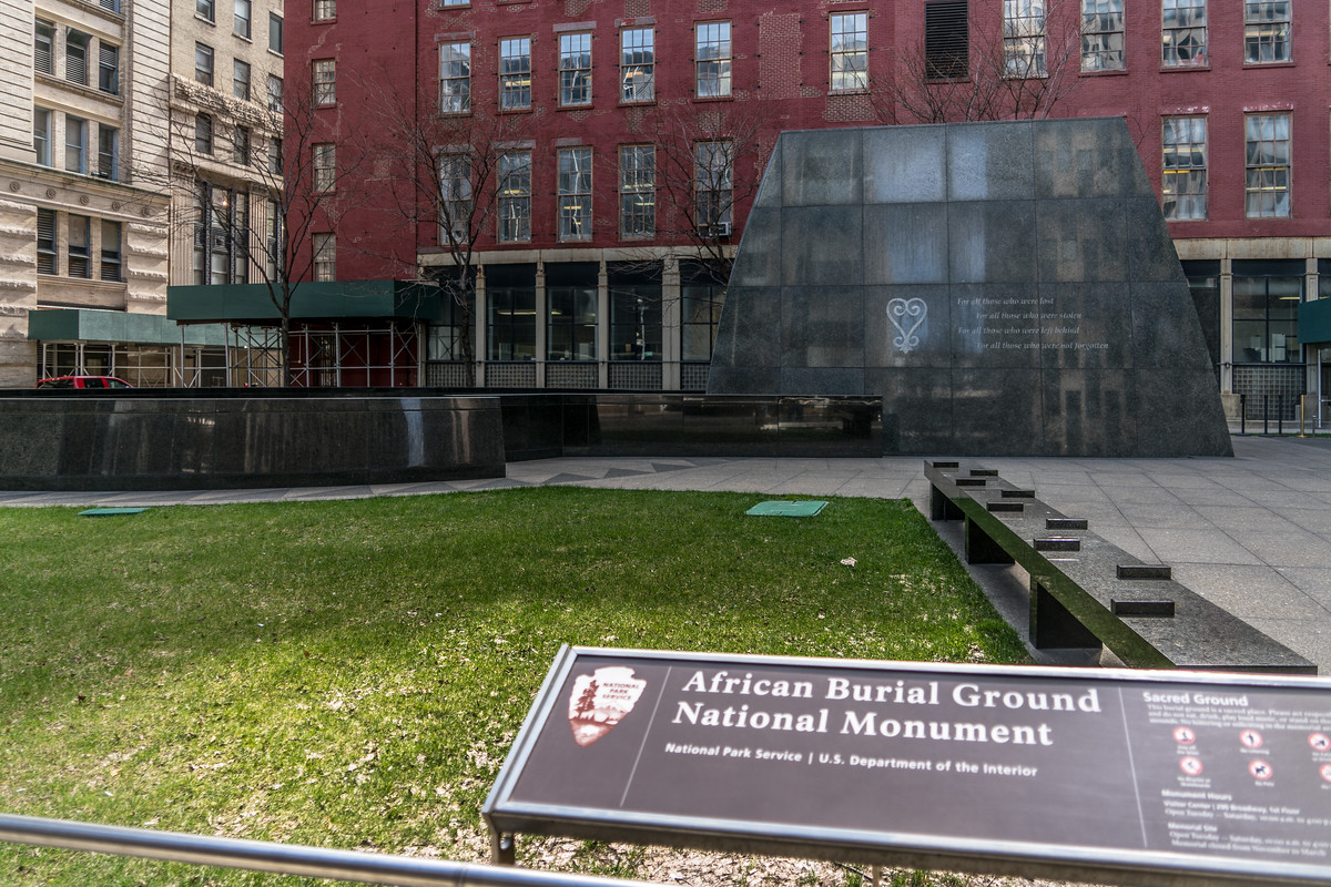 African Burial Ground National Monument, New York