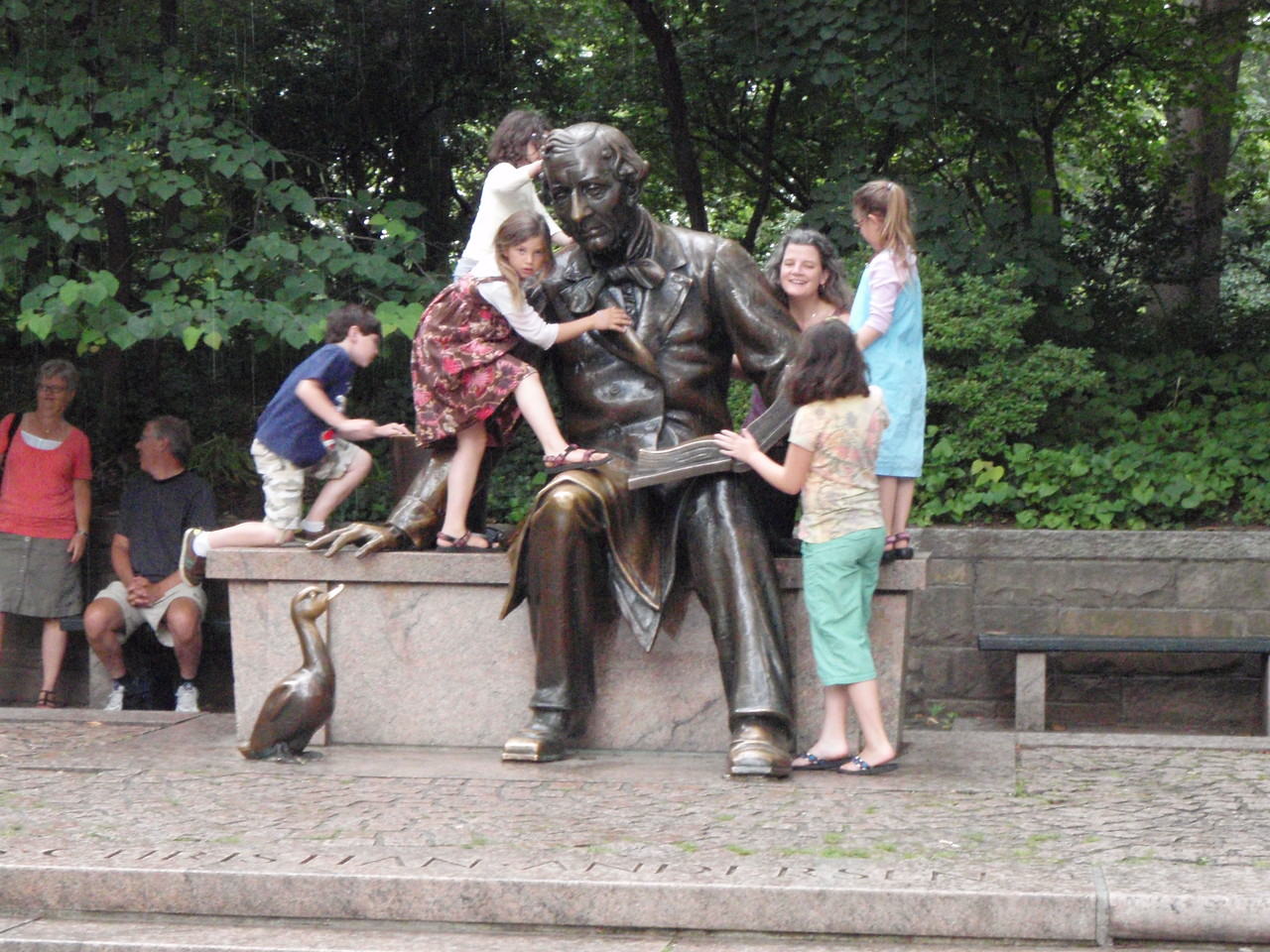 Hans Christian Anderson;  Who are the kids?