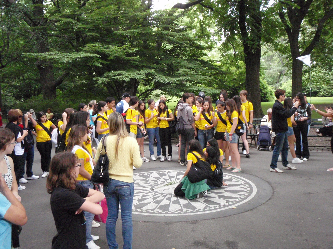 Brazilians invade Strawberry Fields