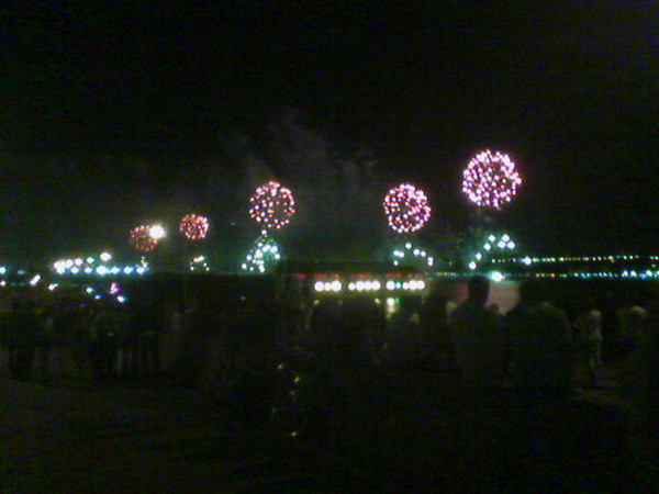 Fireworks on the west side