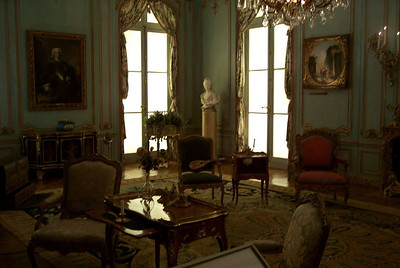 An interior from the Hôtel de Varengeville in Paris, circa 1740, at the Metropolitan Museum of Art in New York