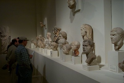 Inside the Greek and Roman Gallery of Metropolitan Museum of Art in New York