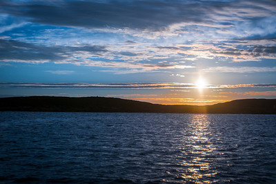 Sunset at Battle Harbour, Newfoundland and Labrador, Canada