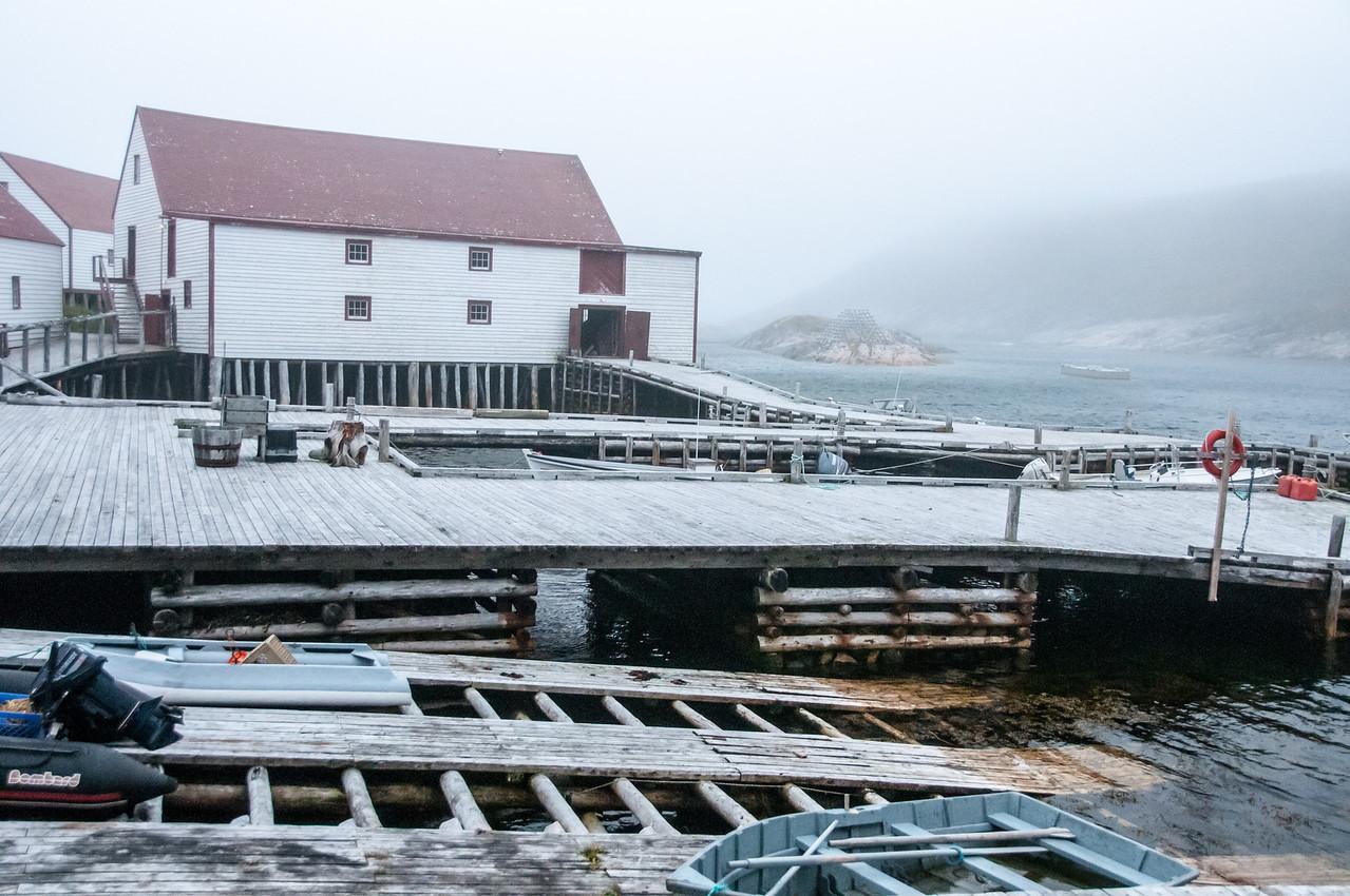 Fishing dock in Battle Harbour, Canada