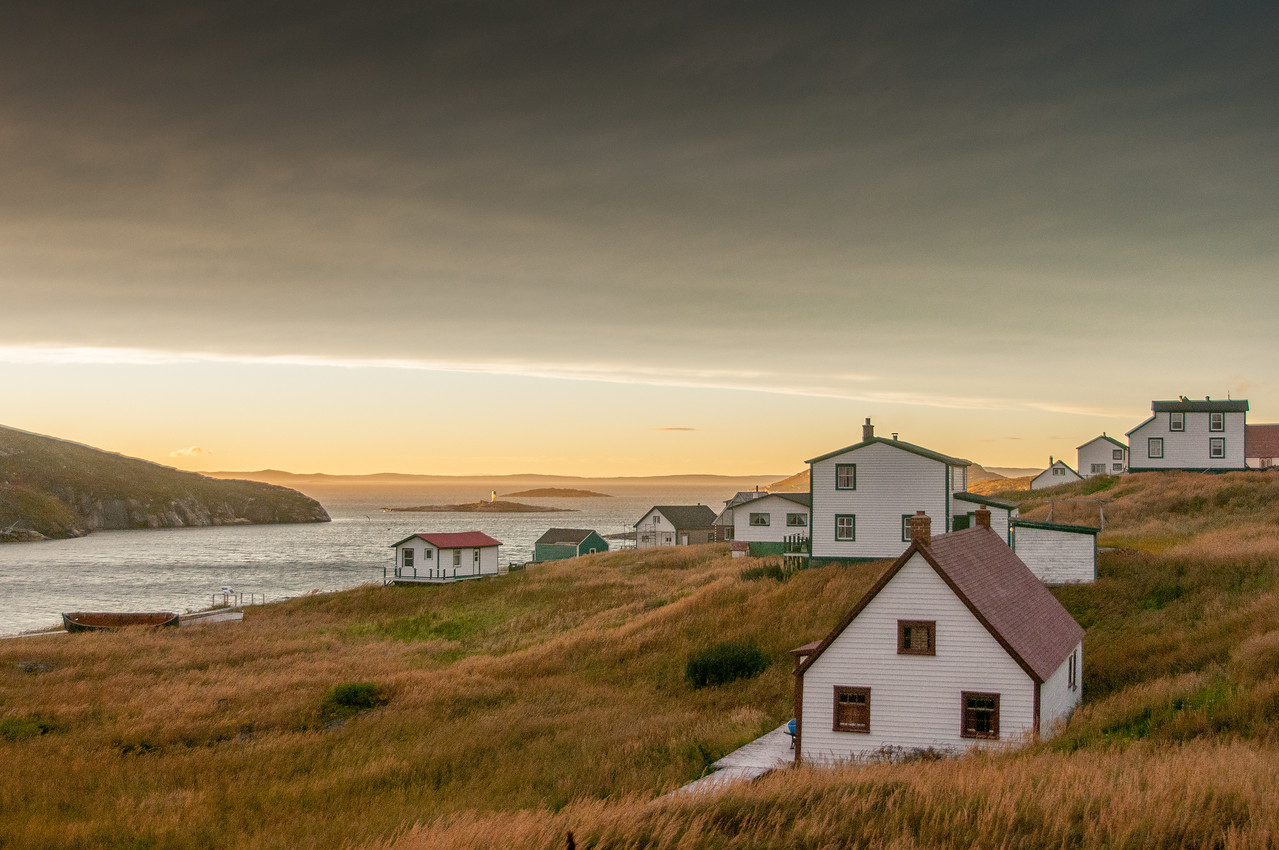 Historic buildings in Battle Harbour, Newfoundland and Labrador, Canada