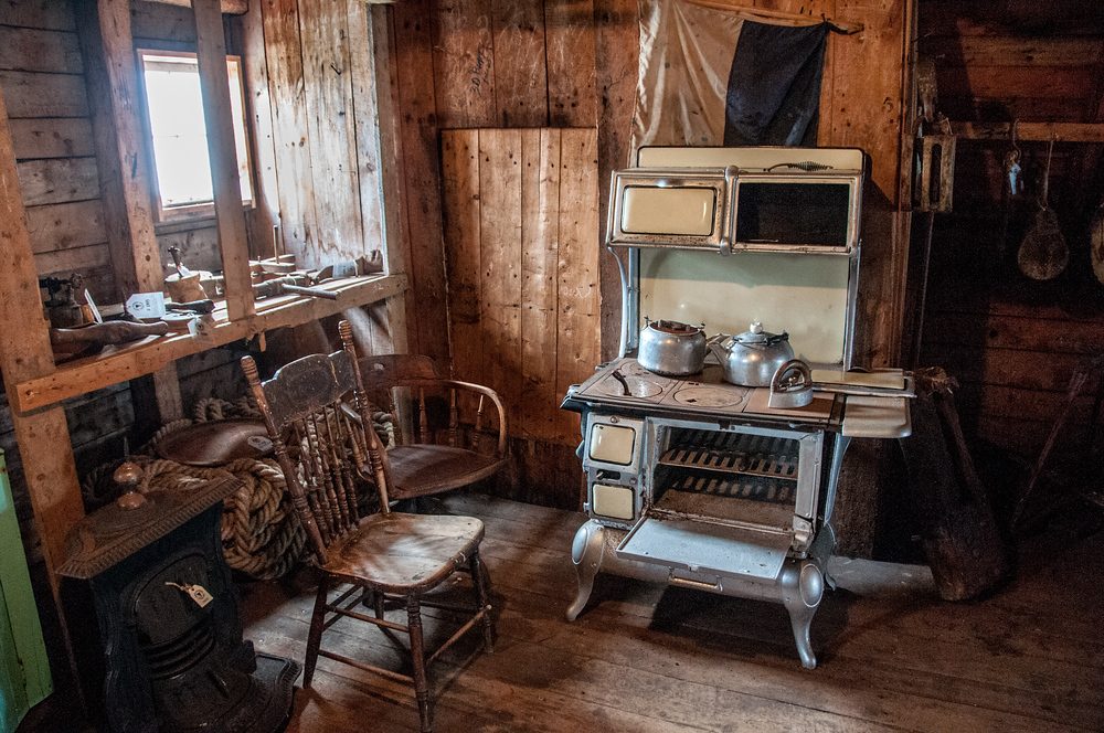Old furnishings of Battle Harbor