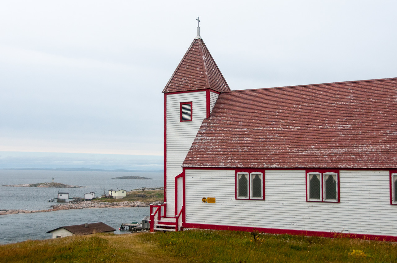 St. James Anglican Church in Battle Harbour, Canada