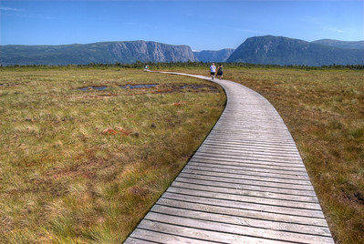 Western Brook Pond Trail in Gros Morne National Park