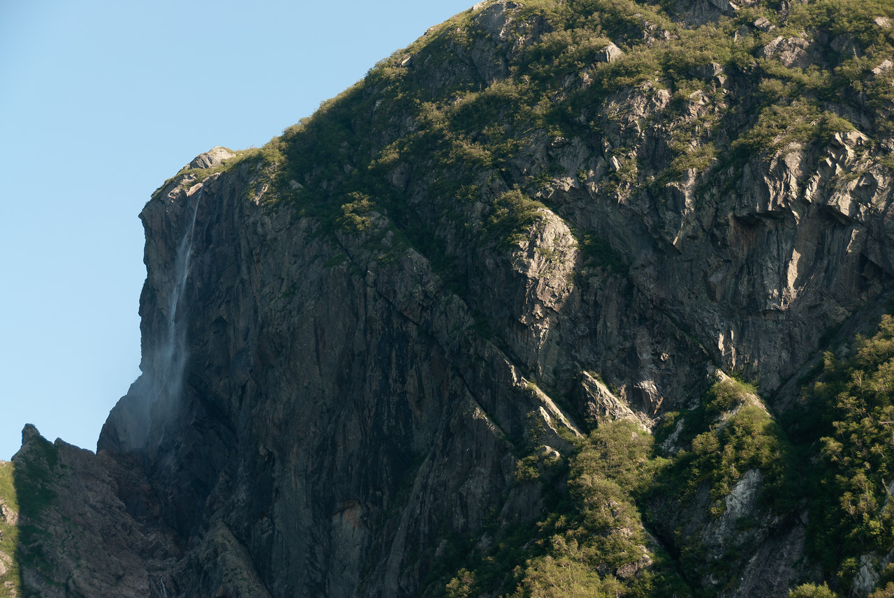 Pissing Mare Falls, Western Brook Pond, Gros Morne National Park