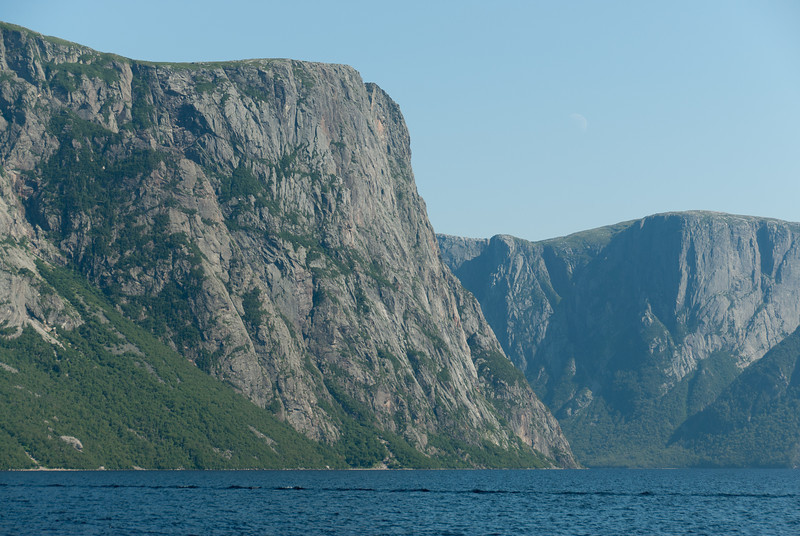 A fjord valley at Ten Mile Pond in Gros Morne National Park, Canada