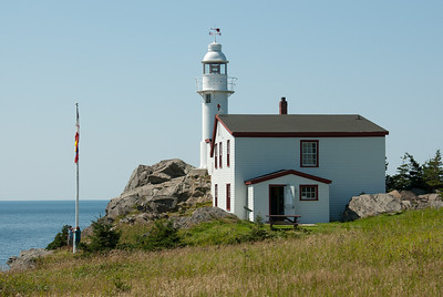 Lobster cove head lighthouse at Gros Morne National Park, Canada