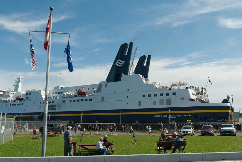 Cruise ship at Gros Morne National Park, Newfoundland, Canada