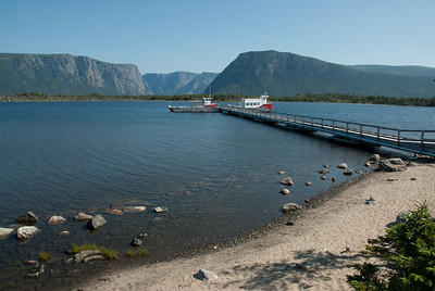 Pier at Norris Point, Gros Morne National Park, Canada