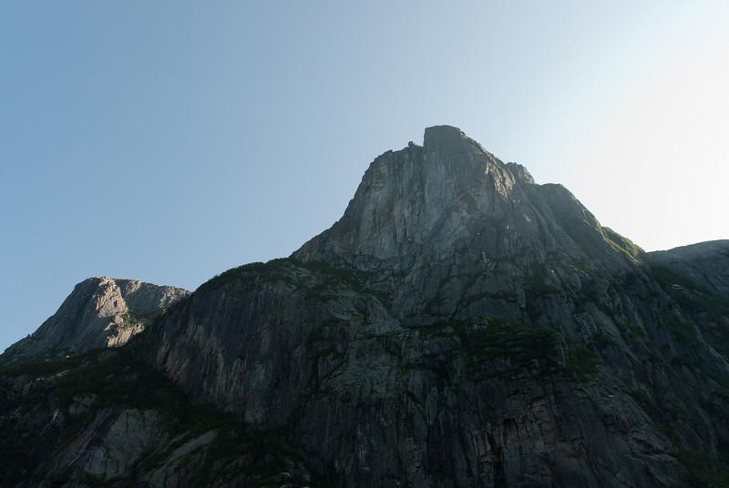 Rocky cliffs at Western Brook Pond, Gros Morne National Park