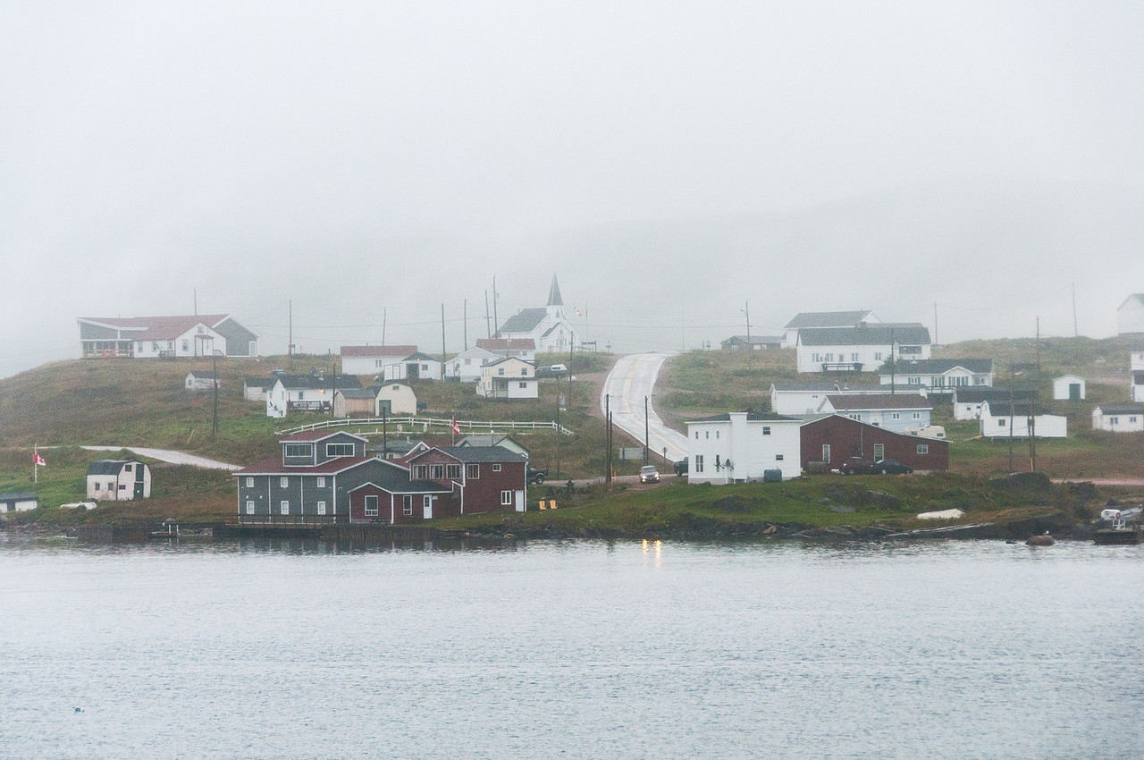 Houses in Red Bay, Newfoundland and Labrador, Canada
