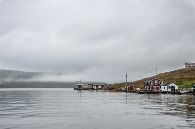 The town of Red Bay, Newfoundland and Labrador, Canada