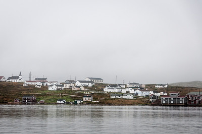 The community of Red Bay, Newfoundland and Labrador, Canada