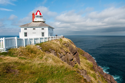 Cape Spear Lighthouse in St. John's, Newfoundland, Canada