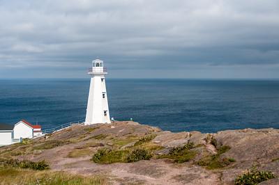 Cape Spear Lighthouse in St. John's, Newfoundland, Canada