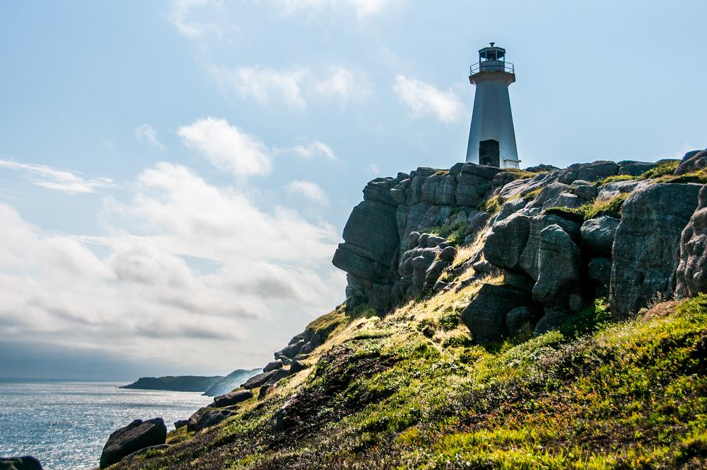 Cape Spear Lighthouse Near St John's, Newfoundland