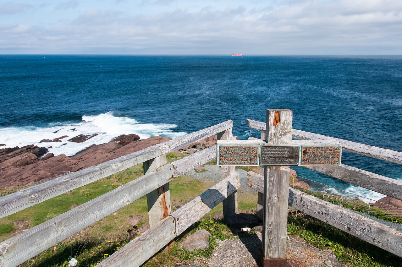 Cape Spear in St John's in Newfoundland, the easternmost point in Canada