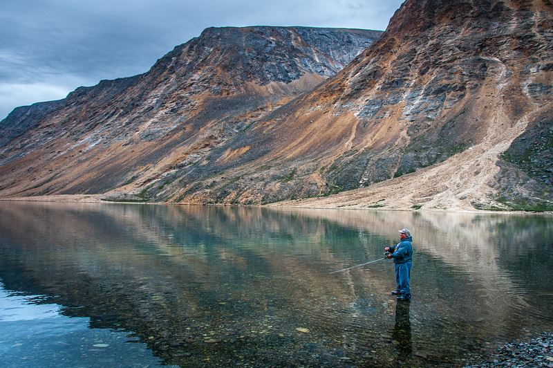 Fishing in Torngat Mountains National Park