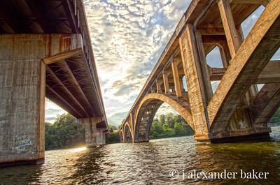 Under Bridges - Lake Tillery, NC