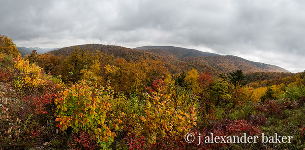 October Mountains - Blue Ridge Parkway, VA