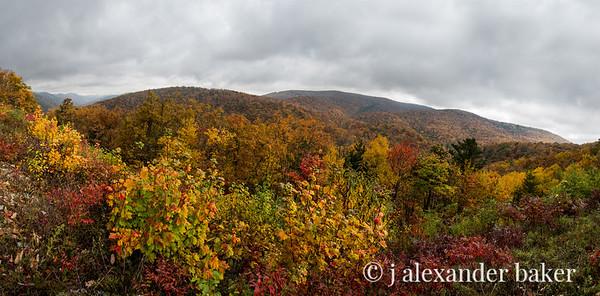 October Mountains - Blue Ridge Parkway, VA