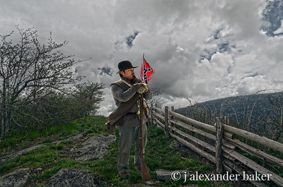 Confederate Ghost on the Blue Ridge