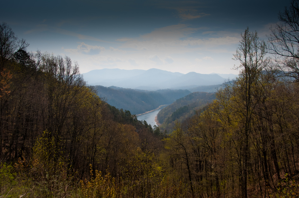 River Valley in Great Smoky Mountains National Park, North Carolina