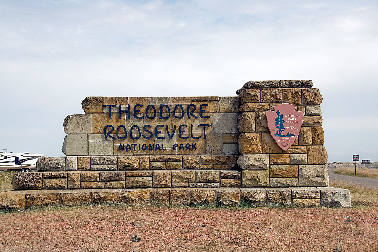 Theodore Roosevelt National Park in North Dakota