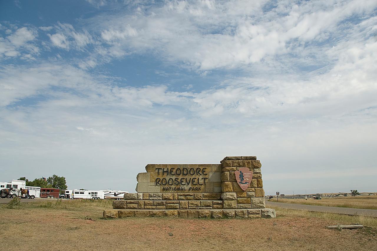Theodore Roosevelt National Park in North Dakota