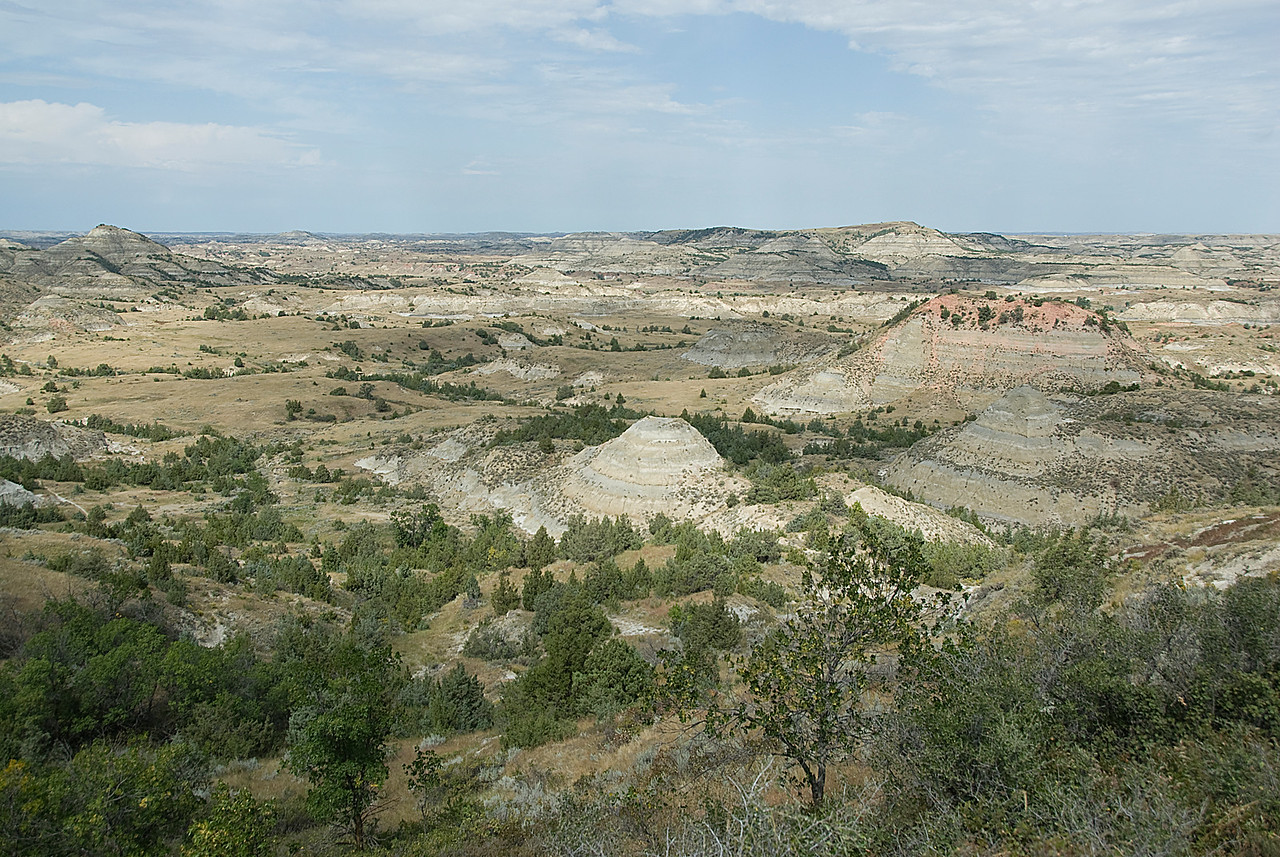 North Dakota badlands in Theodore Roosevelt National Park